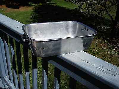 Vintage Wear-Ever Aluminum Roasting Pan # 818 Made In Usa
