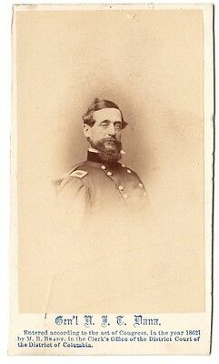Civil War General Napoleon J.T. Dana CDV