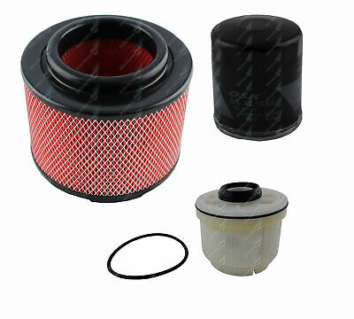Oil Air Fuel Filter Service Kit Toyota Hilux KUN16 KUN26 Turbo Diesel 1KD-FTV
