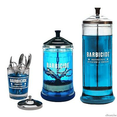 Barbicide Disinfectant Jar for Salons & Barbershop