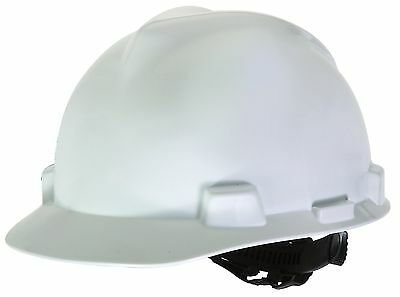 MSA Safety Works 818066 Hard Hat, White ( Personal Protective Equipment) AOI