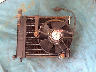Italjet Formula 125 - Rad Radiator & Cooling Fan Unit