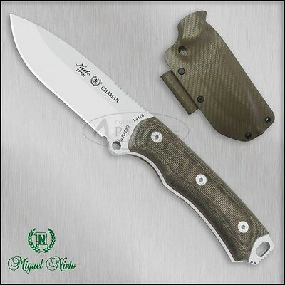Cuchillo de supervivencia Nieto Chaman katex marrón -  knife, messer, coltello