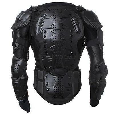 Black/Red Motorcycle Motorcross Racing Body Armor Spine Chest Protector Jacket