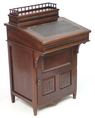 Antique Mahogany Davenport Bureau Desk - FREE Delivery [PL2536]