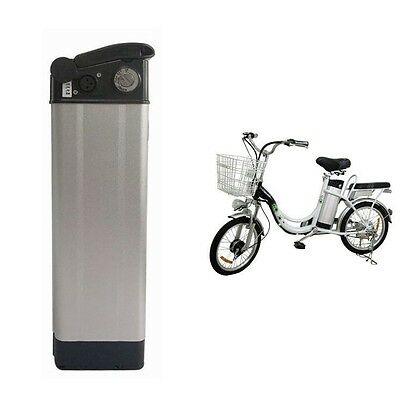 NEW 36V10Ah Silver Fish Li-Ion Battery for ebike Electric Bicycles with Charger