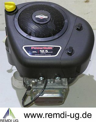 Briggs & Stratton Rasentraktor Motor 12,5 HP E-Start Power Built Welle 25,4/80