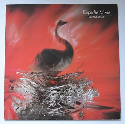 Depeche Mode Speak & Spell Vinyl Lp Mute Vg409 1981 France Original Ex/nm Vinyl