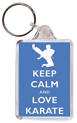 Keep Calm And Love Pigeons Personalised Large Keyring