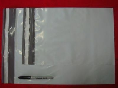 Combo Lot 20 poly mailer shipping envelope 10 of each  9 x 12 plus  12 x 15.5