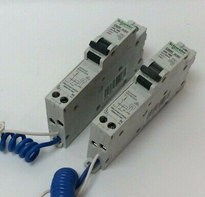 Schneider 32 Amp Rcbo 30Ma 10 Ka 230V C60Hc32R30 Job Lot To Clear (S74)