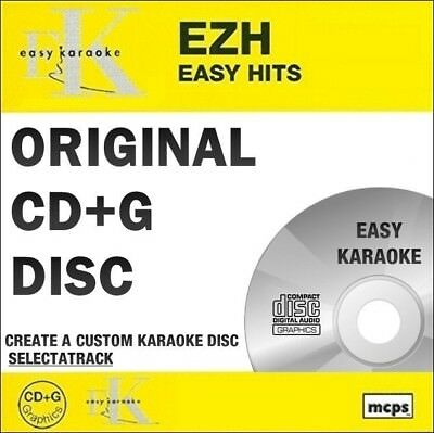 Karaoke Cdgs, Dvds & Media Hits Disc Musical Instruments & Gear Rapture Easy Karaoke Hits Cdg Disc Ezh03