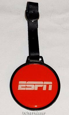 """New St. Andrews Products ESPN 2.5"""" Nickel Plated Round Resin Dome Golf Bag Tag"""