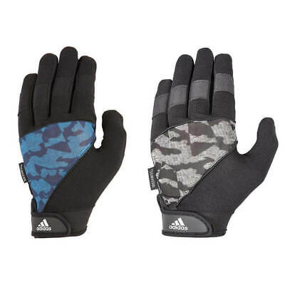 Adidas Long Finger Performance Gloves Weight Lifting Fitness Training Workout
