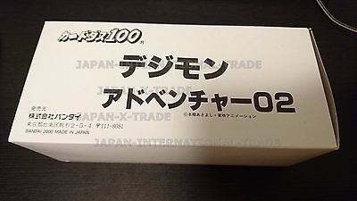 DIGIMON vintage year 2000 bandai carddass japanese card booster box x 2 sealed