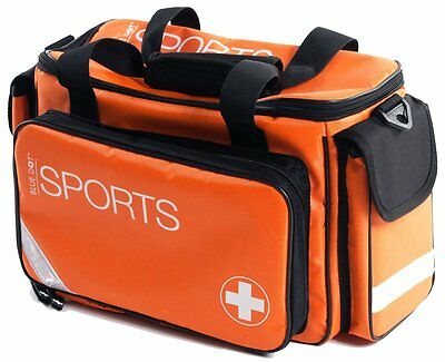 Empty Orange First Aid Kit Sports Holdall Bag - Large - Trainer, Sports, Teams