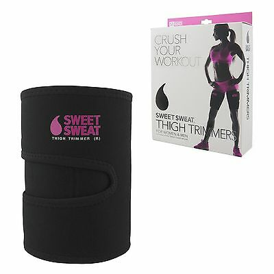 Sweet Sweat Premium Thigh Trimmers for Men & Women (Pink)