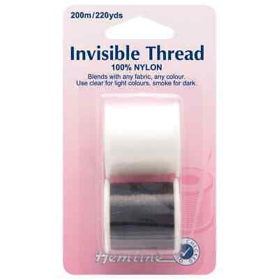 Invisible Thread 200m - Pack Of 2
