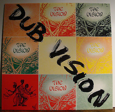 LP THE VISION - Dub Vision  1988