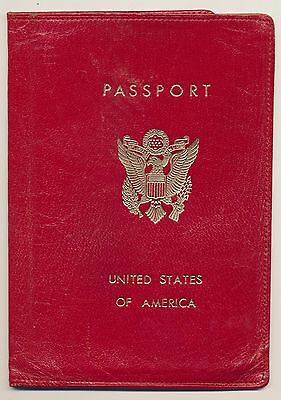 SABENA BELGIAN AIRLINES United States Of America Passport Cover