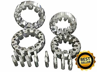 Complete Set Quad Wheel Spacers PCD 4x156, 4x145, 4x144 and 4x100, 4x110, 4x115