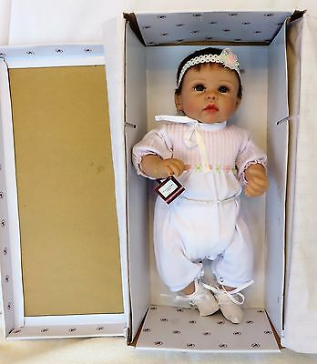 """AD """"OLIVIA'S GENTLE TOUCH"""" So Truly Real 20"""" RealTouch Vinyl/Cloth Doll IOB"""