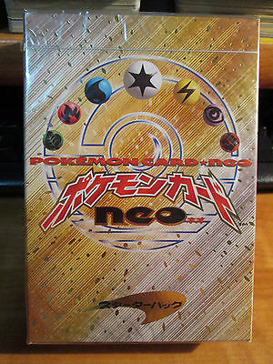 Sealed COMPLETE Pokemon NEO-1 Card THEME DECK+Lugia Coin Genesis Starter Box Set