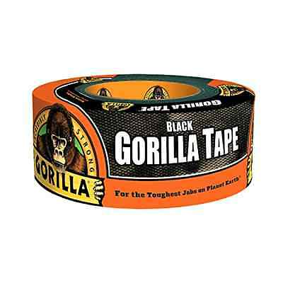 """Gorilla Duct Tape, 1.88"""" x 12 yd., Black - Free 2 Day Shipping"""