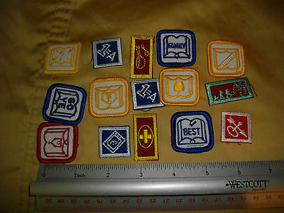 small patches lot boy scouts? girl guides ? cubs? beavers?