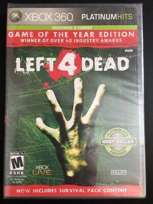 Xbox 360 One ✔ Left 4 Dead Game Of The Year Edition Goty ✔ New Factory Sealed