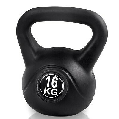 Gym Weights 16kg Kettlebell Kettle bell Heavy Intense Weight Training Exercise