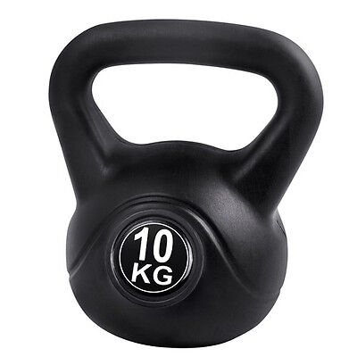 10KG Gym Weights Kettlebell Kettle Bell Home Exercise Intense Weight Training