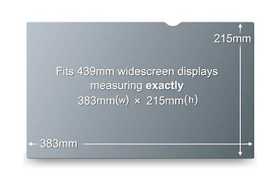 3M Privacy Filter for 17.3 Inch Widescreen Laptop (PF17.3W)