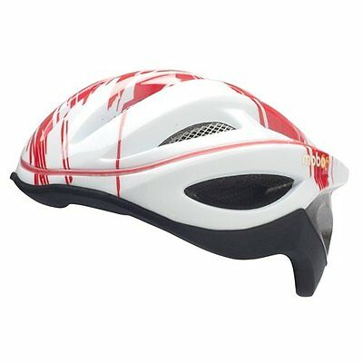 Mobo 360 LED Helmet, Red/White, Large/X-Large