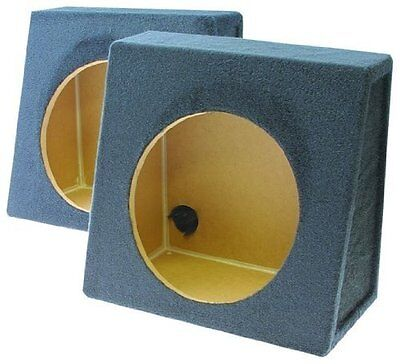 Q Power Pair 12-Inch Single Unloaded Boxes, 1-Pair