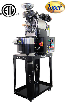 Cafemino Electric 6kg/hr Commercial Coffee Roaster Super Roasting Performance