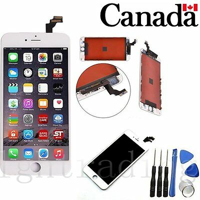 For iPhone6 Plus  LCD Display Screen Replacement Touch Digitizer Assembly White