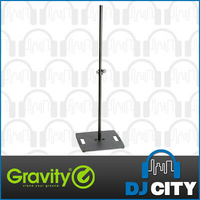 Gravity LS331B Adjustable Lighting Stand Pole With Steel Base Plate up to 2.4m