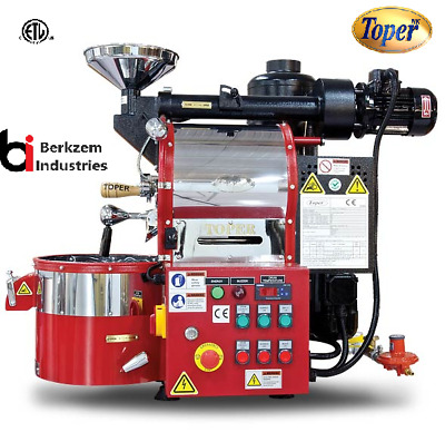 Toper Cafemino 1kg/batch Coffee Roaster Gas Artisan Ready