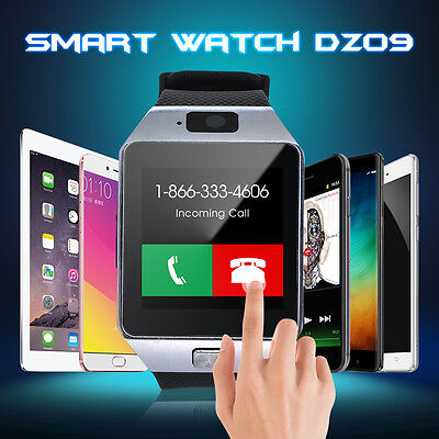 Smart Wrist Watch Phone Mate Bluetooth Camera For iPhone Android HTC Samsung AU