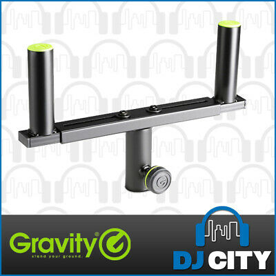Gravity GSAT36B Double Speaker Stand Apater T-Bar Adapter - NEW - DJ City