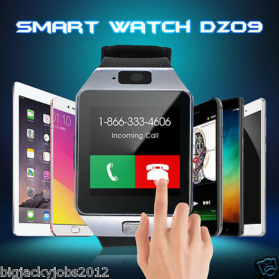 Smart Wrist Watch Phone Mate Bluetooth Camera For iPhone Android HTC Samsung
