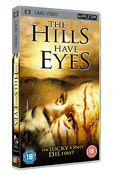 The Hills Have Eyes  (New and Sealed) Sony PSP UMD Video Movie