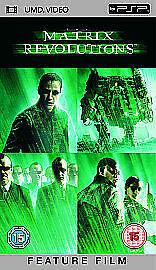 The Matrix Revolutions (New and Sealed) Sony PSP UMD Video Movie