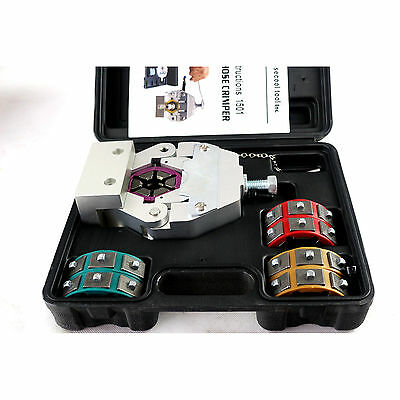 71550 Manual A/C Hose Crimper kit with four sets of dies applicable for barrier