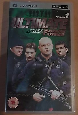 Ultimate Force: Series 1 1-6 (New and Sealed) Sony PSP UMD Video Movie