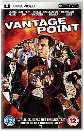 Vantage Point (New and Sealed) Sony PSP UMD Video Movie