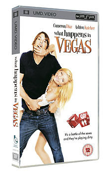 What Happens in Vegas (New and Sealed) Sony PSP UMD Video Movie