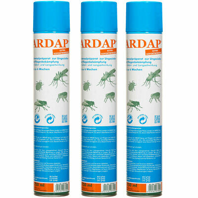 11,53 EUR / l; Ardap Spray 3 x 750ml