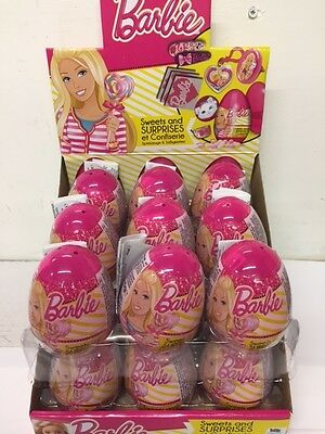 Barbie Surprise Eggs - Full box 18 Eggs and gift